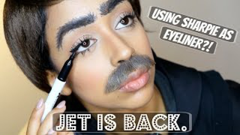 SHARPIE FOR EYELINER INTERVIEW WITH JET