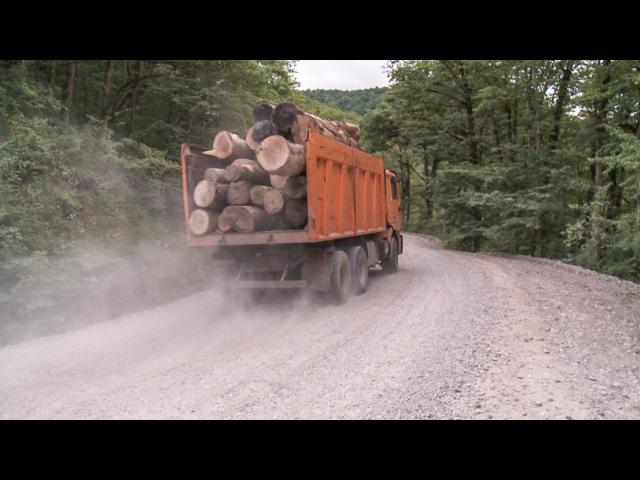 Объезд по смертельно-опасной трассе в Краснодарском крае
