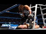 James Ellsworth vs WWE World Champion AJ Styles- Contract Ladder Match SmackDown LIVE, Nov 22, 2016