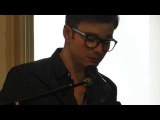 Chris Colfer at Barnes &amp Noble NY --- Chris reading from