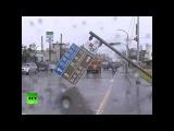 Destruction & Devastation As Typhoon Nepartak Slams Into Taiwan