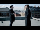 Rooftop Showdown - The Reichenbach Fall - Sherlock - BBC