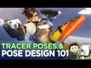 Tracer Pose Design 101 The Animation of Overwatch Extra Frames