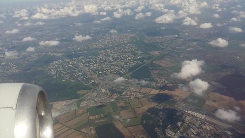 Вид из сомалета 5 минут полёта от Внуково
