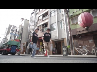 YLYK Dance Videos - Kyoka and Maika RUSHBALL in Osaka, Japan YAK FILMS