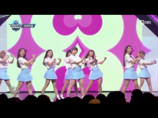 Oh my girl - step by step @ m! countdown 160505