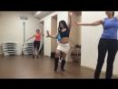 Урок Восточного танца с Юлией Швецовой