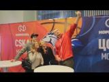 Автограф-сессия с Максимом Маминым из ПХК ЦСКА и Иваном Лазаревым