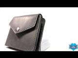 Видеообзор мужского кожаного портмоне ручной работы BlankNote 4.2 графит