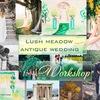 """Свадебный воркшоп """"Lush meadow antique wedding"""""""