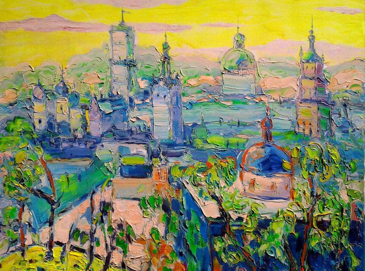 Виставка Людмили Рибенчук «Львів у просторі світла і кольору ... 853a1f3b593f4