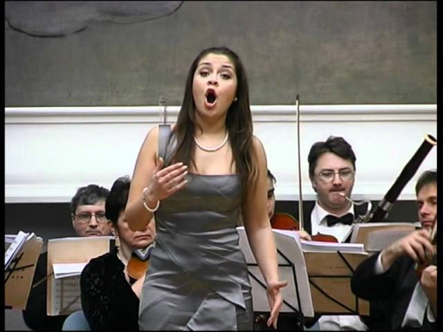 Mozart Dei vieni non tardar Susanna Le Nozze di Figaro Alina Yarovaya