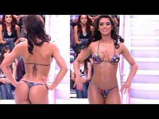 Bikini Thong Brazilian Body Paint Girl