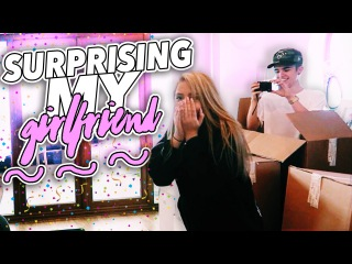 SURPRISING MY GIRLFRIEND PRANK!