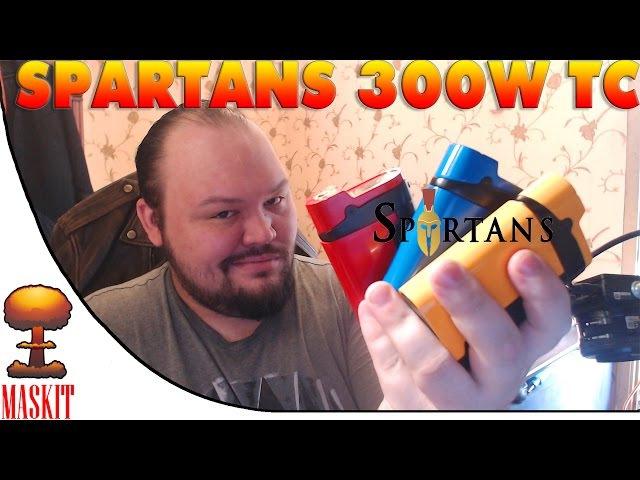 Spartans 300W TC by Vapmod | Он Может а Аккумы нет ! )