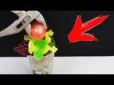 что если раскалённый шар в 1000 градусов опустить в 100 слоёв мармелада и желе!
