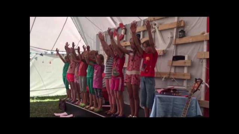 Діти показують та співають Руки наші можуть...