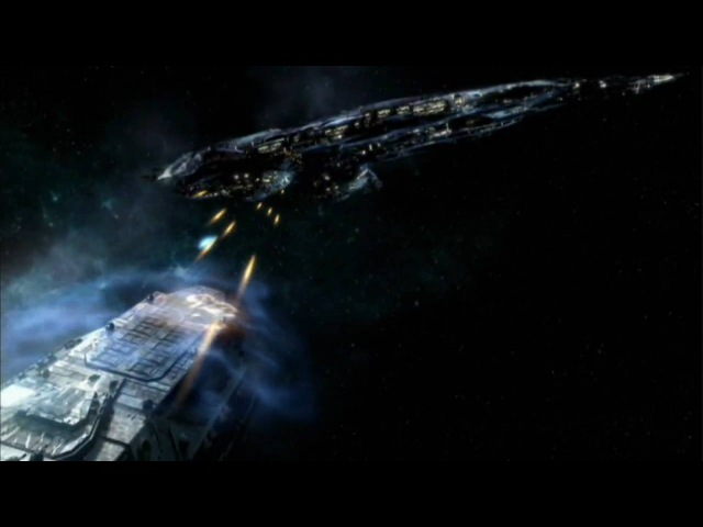 Stargate Atlantis - Space Battles - Skillet: Hero