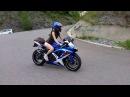 Беременная мотоциклистка / Pregnant motogirl natiy24