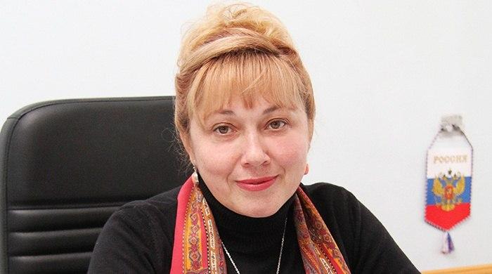 Светлана Савченко в Армянске встретилась с трудовым коллективом Титановых И ...