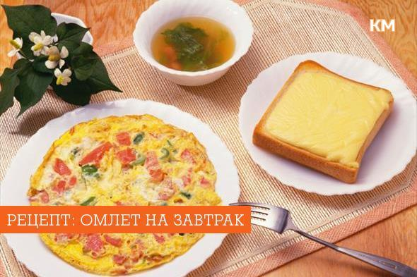 Вкусная яичница на завтрак рецепты с фото