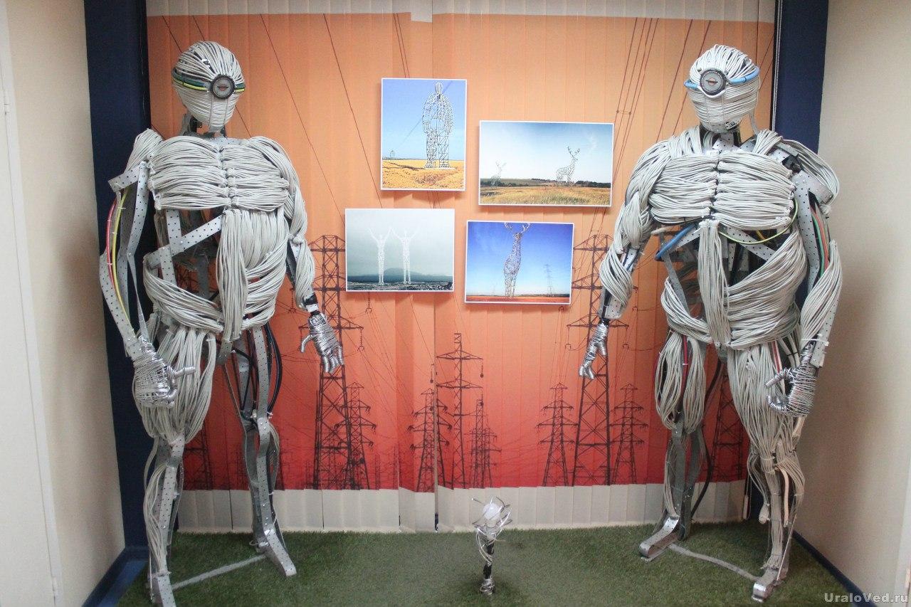 Роботы в Музее энергетики