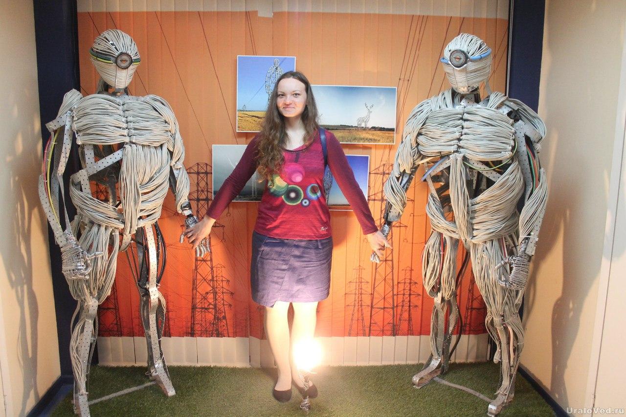В музее энергетики Урала