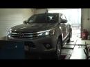 Чип тюнинг и замер мощности Toyota Hi-LUX 2.8 D-4D