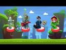 🐷 Свинка Пеппа Воздушные Шары, Лего Минифигурки в киндер сюрпризе, Мультик для детей