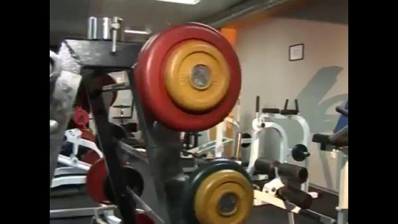 Тренажеры MBBarbell МВ 3.07 Тренажёр для ягодичных мышц в наклоне (грузоблок)