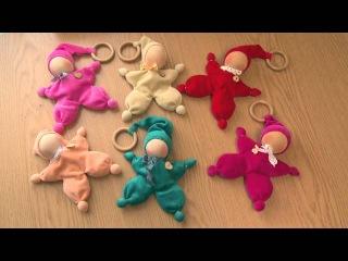 Мастер-класс от мамы Вики. Как сделать куклу - Малышарика