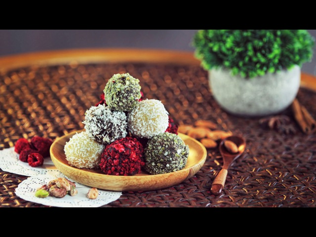 ЗДОРОВЫЕ Конфеты Марципан Raw Vegan Marzipan