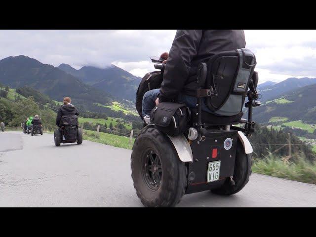 Gelände Rollstuhl Apache Alm Bichlalm Kitzbühel
