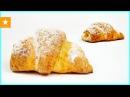 РОГАЛИКИ С ЯБЛОКАМИ из творожного теста от Мармеладной Лисицы Рецепт без яиц