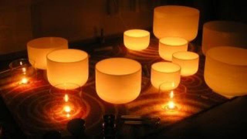 Хрустальные поющие чаши 432 Гц. Оздоровление, гармония тела и духа. Возрождает жел...