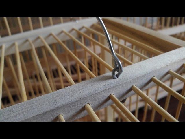 Изготовление клеток и западков. Проволочные крепления, ручки, шарниры.
