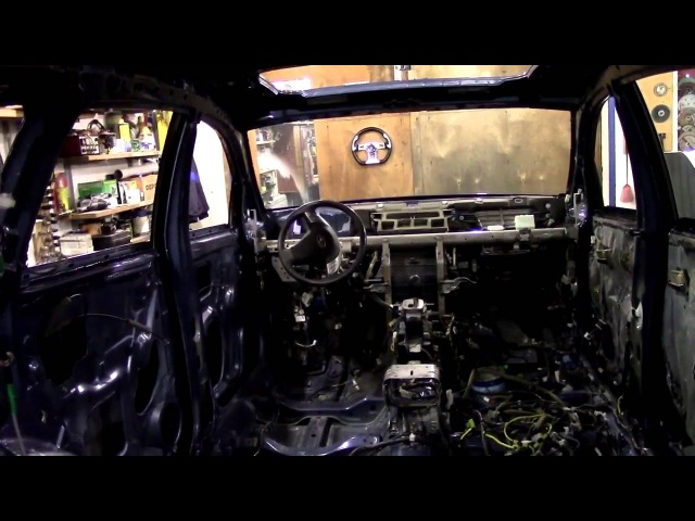Кузовной ремонт. Субару Трибека и покраска. Body repair.