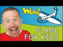 Plane and Boat for Kids | Steve and Maggie | English for Children
