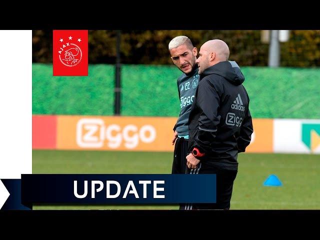Bosz: 'Afwachten of Ziyech zondag bij selectie kan zitten'