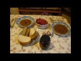 Суп из красной фасоли и печеная паприка