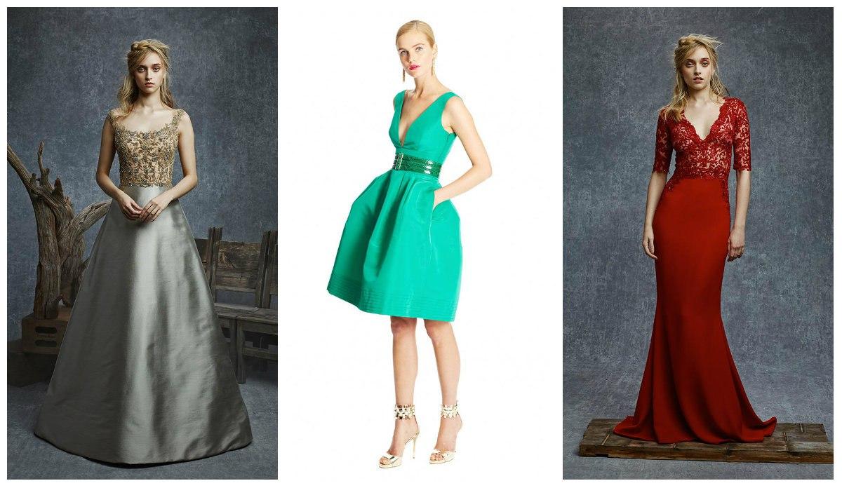 модное платье 2016 цвета стили фасоны