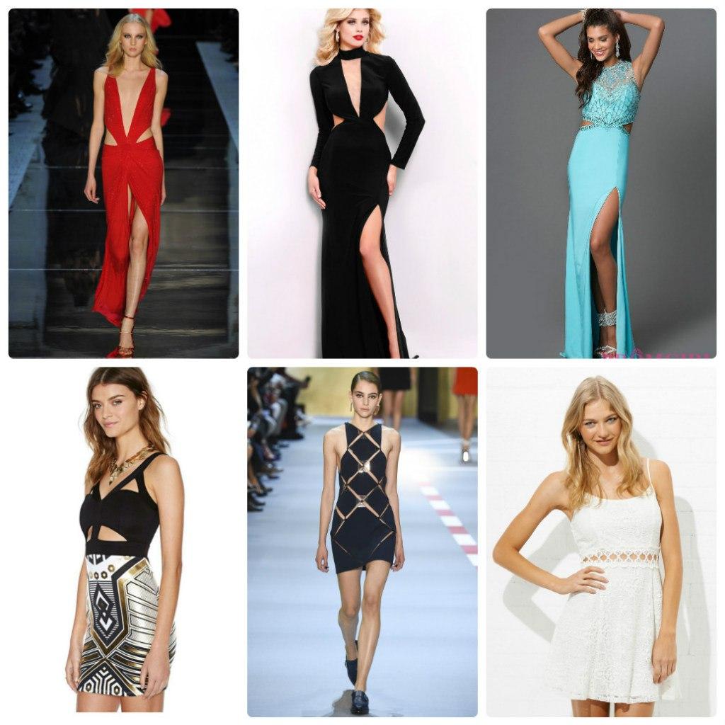 Стильные оригинальные платья