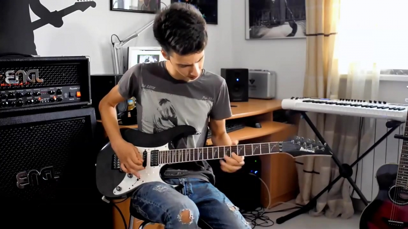 Tobi Galea Andy Timmons Deliver Us guitar cover