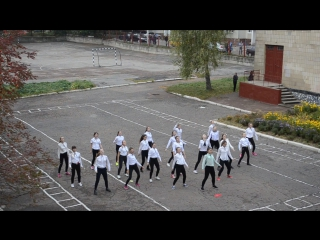 Флешмоб на День Учителя Сумская гимназия №1