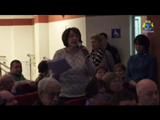 Депутат Иванова Татьяна Ивановна на встрече с Префектом СВАО Виноградовым В Ю 2