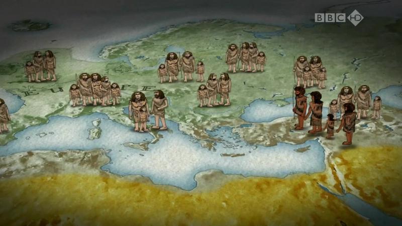 BBC. Путешествие человека - Европа (4 серия из 5) HD 720