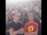Джеймс Ганн и Шон Ганн на Dragon-Con 2014