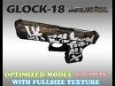 CS:GO GLOCK 18 Wasteland Rebel HD skin for CS 1.6
