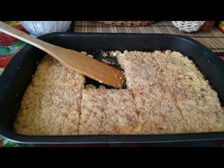 Творожный пирог рецепт из творога в духовке как приготовить блюдо вкусно пошаго...