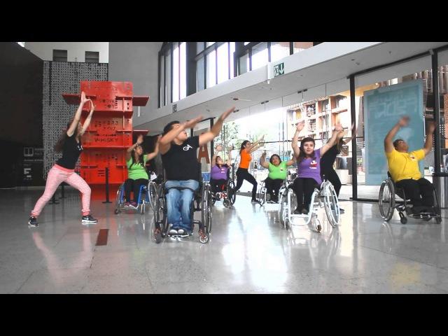 Grillo Aranguiz coreografía zumbaton récord mundial Teletón